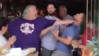Rob And Rex Ryan Got Into A Scuffle And Choked A Guy At A Nashville Restaurant For Some Reason