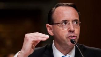 Deputy AG Rod Rosenstein Sees Zero Reason To Fire Special Counsel Robert Mueller