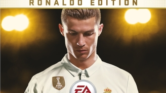 Real Madrid's Cristiano Ronaldo Is On The FIFA 18 Cover For the First Time