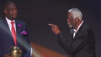 Bill Russell Told Five Hall Of Famers He'd 'Kick Your A*s' After Receiving A Lifetime Achievement Award