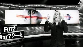Samantha Bee Takes A Weird, Dark Trip Through The World Of Language Under President Trump