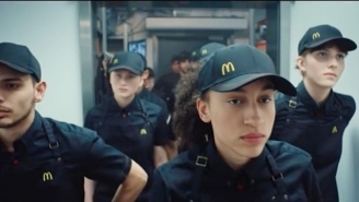 A Questionable New McDonald's Ad Compares Company Employees To Soldiers