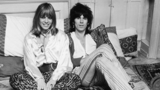 Anita Pallenberg, 'The Female Rolling Stone,' Dies At 73