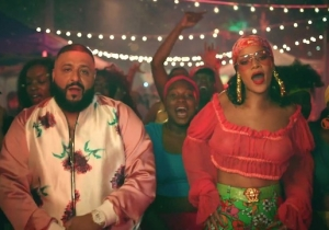 DJ Khaled And Rihanna Keep Things Smooth In Their Spanish-Flavored 'Wild Thoughts' Video