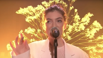 Watch Lorde's Golden, Ferocious 'Perfect Places' Performance On 'Fallon'