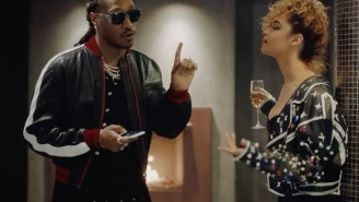 Watch Future And Chris Brown Embrace Their Roles As Players In The Opulent 'Pie' Video