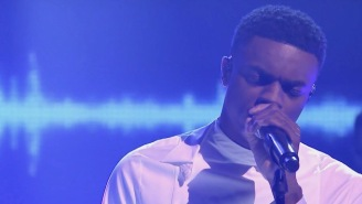 Watch Vince Staples' Hypnotic Late Night Performance Of 'Love Can Be' With Damon Albarn And Ray J