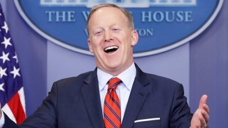 Sean Spicer Scores A Post-White House Speaking Gig To Showcase His 'Candor And Wit' For The Masses