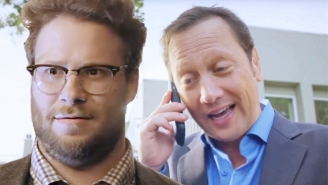 Seth Rogen Reacted Accordingly When He Discovered He Was Blocked By Rob Schneider
