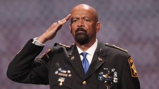 Sheriff David Clarke Is No Longer Accepting A Position With Homeland Security After Accusations Of Plagiarism