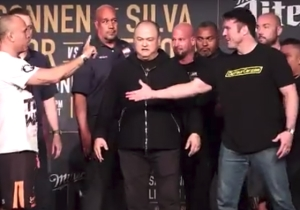 The Heated Face-Offs Between Chael Sonnen And Wanderlei Silva Should Remind You Not To Sleep On Bellator 180