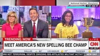 The National Spelling Bee Champ Suffers Through MSNBC's Request To Spell Trump's 'Covfefe'