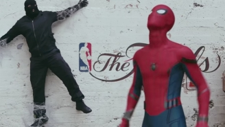 Spider-Man's Quest To Watch The NBA Finals Is As Good As Some Movies
