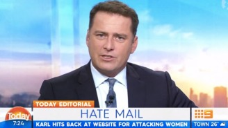 Internet Folk Hero Karl Stefanovic Throws Down Against 'The Daily Mail' For A Sexist Attack On A Colleague