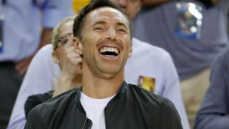 Steve Nash Became An NBA Champion As A Member Of The Warriors Front Office