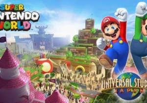 'Super Nintendo World' Theme Parks Are Coming, And The Rides Sound Awesome