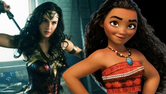 Setting 'Wonder Woman' To The Music From 'Moana' Is Pretty Much Perfection