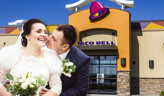 Taco Bell Wedding.Taco Bell Really Wants To Be The Venue For Your Wedding