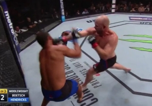 Tim Boetsch Beats Johny Hendricks Down At UFC Fight Night: Oklahoma City
