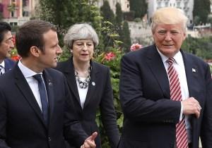 President Trump Has Accepted Emmanuel Macron's Invitation To Visit France On Bastille Day