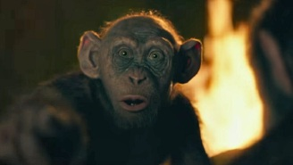 Here's Your First Look At 'Bad Ape' In A Clip From 'War For The Planet Of The Apes'