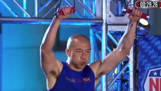 A 41-Year-Old Man Battling Parkinson's Ran An Inspiring 'American Ninja Warrior' Qualifier