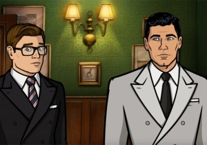 Sterling Archer Meets The 'Kingsman' For A Drunken Spy Dream Crossover