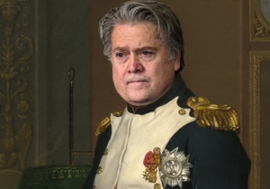 Steve Bannon Was Gifted A Portrait Of Himself As Napoleon Bonaparte By Trump Supporter Nigel Farage