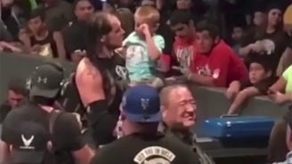 Baron Corbin Insists He Doesn't Like Children, Despite Evidence To The Contrary