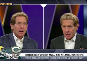 Skip Bayless Hilariously Debated Himself About Aaron Rodgers, Thanks To The Internet