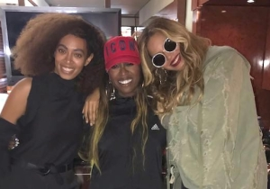 Even Beyonce Had To Come Enjoy Missy Elliott's FYF Fest Performance