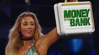 Local Advertising May Have Spoiled The Entrants For Both WWE Money In The Bank Ladder Matches