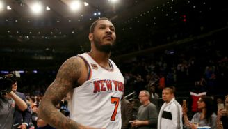 The Knicks May Be 'Wary' Of Giving Up Much In An Anthony Davis Trade Because Of Carmelo Anthony