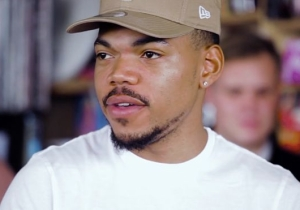 Chance The Rapper Covers Stevie Wonder In His Soulful 'Tiny Desk' Concert