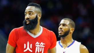 James Harden And Chris Paul Have Been Working Together All Summer To Build Chemistry