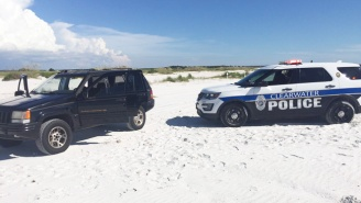 A Florida Man Posted His Own Shocking Beach Police Chase On Facebook Live