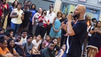 Common Surprises Kids At Harlem School With $10K For Supplies