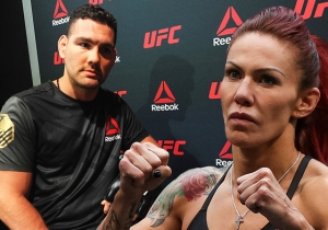 Dana White Has 'Hilarious' Footage Of Chris Weidman Excusing Himself From The Cyborg-Magana Fight