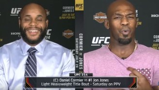 Jon Jones And Daniel Cormier Mocking Each Other For Crying Is Absolutely Priceless