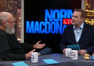 David Letterman Showers 'Norm Macdonald Live' With Praise In The First Teaser For The New Season