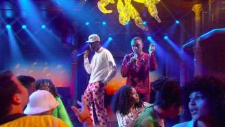 Watch Tyler The Creator And Steve Lacy Turn 'Colbert' Into A '70s-Style Dance Party With '911'