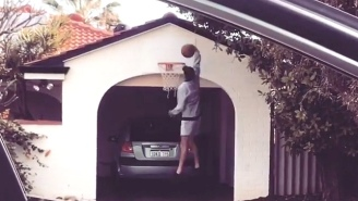 The Drive-By Dunk Challenge Is A Wonderful Internet Sensation That Even Anthony Davis Loves