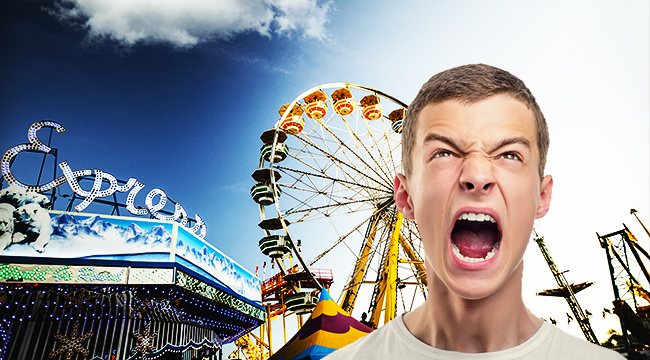 The Scariest Carnival Rides, Ranked By An Anxious Man