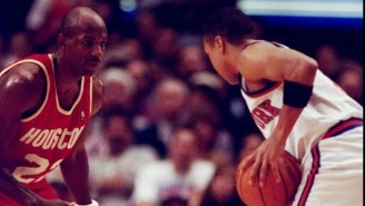Clyde Drexler Believes Houston Would've Beat The 1995 Bulls 'Like They Stole Something'