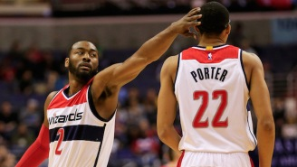 John Wall Doesn't Regret Recruiting Paul George At Otto Porter's Expense