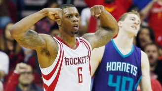 Former Rocket Terrence Jones Got Clotheslined After A Low Blow In The Philippine Basketball Association