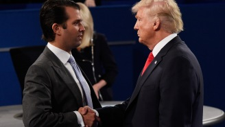 President Trump Continues To Defend Don Jr's Actions: 'Zero Happened' In His Meeting With Russian Lawyer