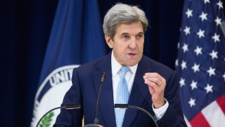 John Kerry Blasts Trump's Transgender Military Ban, Saying It's Against America's Values