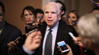 John McCain Thanks His Well-Wishers, Then Immediately Accuses Trump Of Conceding To Russia Over Syria