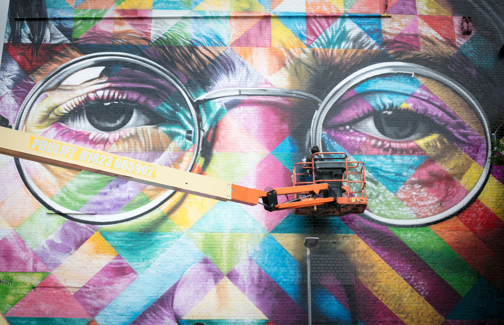 Check Out The Stunning Works From Europe's Largest Street Art Festival